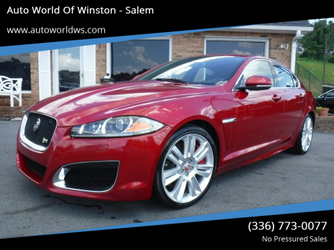2014 Jaguar XF for sale at Auto World Of Winston - Salem in Winston Salem NC