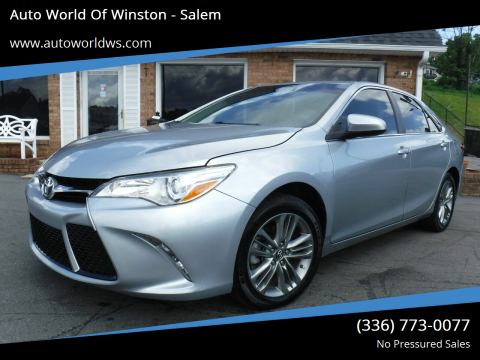 2017 Toyota Camry for sale at Auto World Of Winston - Salem in Winston Salem NC