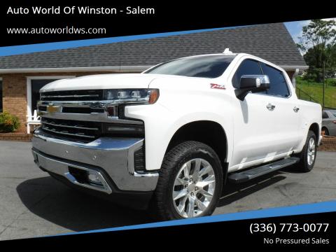 2019 Chevrolet Silverado 1500 for sale at Auto World Of Winston - Salem in Winston Salem NC