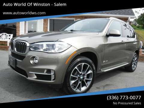 2018 BMW X5 for sale at Auto World Of Winston - Salem in Winston Salem NC