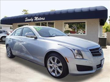 2013 Cadillac ATS for sale at Sandy Motors INC in Coventry RI