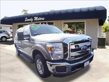 2011 Ford F-250 Super Duty for sale at Sandy Motors INC in Coventry RI