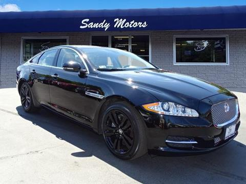 2013 Jaguar XJ for sale at Sandy Motors INC in Coventry RI