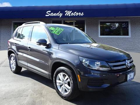 2016 Volkswagen Tiguan for sale in Coventry, RI