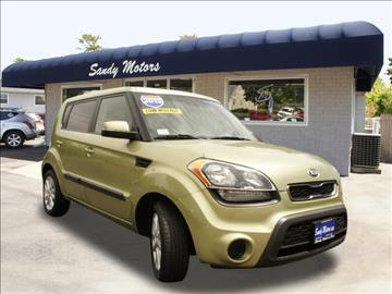 2013 Kia Soul for sale at Sandy Motors INC in Coventry RI