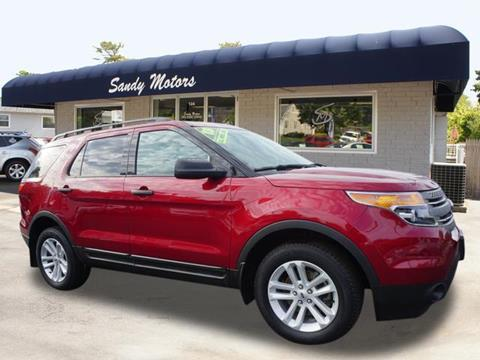 2015 Ford Explorer for sale at Sandy Motors INC in Coventry RI