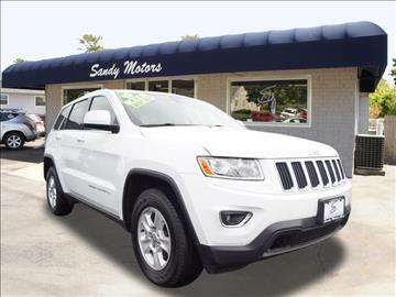 2015 Jeep Grand Cherokee for sale at Sandy Motors INC in Coventry RI