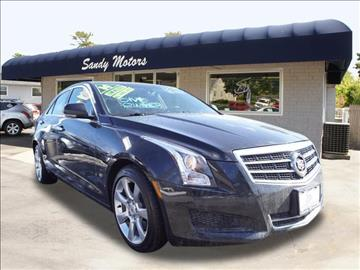 2014 Cadillac ATS for sale at Sandy Motors INC in Coventry RI
