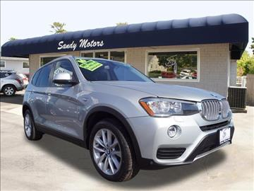 2016 BMW X3 for sale at Sandy Motors INC in Coventry RI