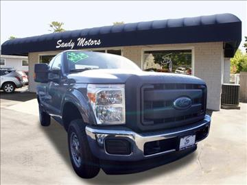2013 Ford F-250 Super Duty for sale at Sandy Motors INC in Coventry RI
