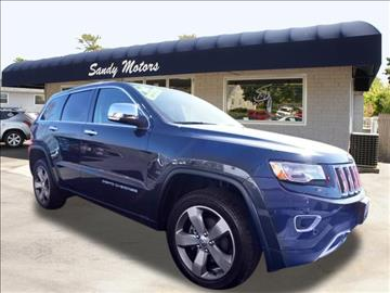 2014 Jeep Grand Cherokee for sale at Sandy Motors INC in Coventry RI