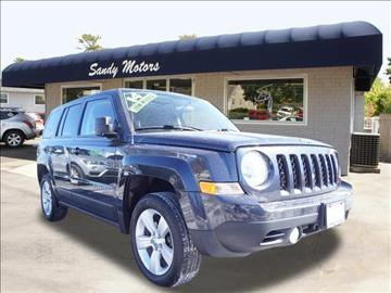 2014 Jeep Patriot for sale at Sandy Motors INC in Coventry RI