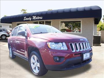 2012 Jeep Compass for sale at Sandy Motors INC in Coventry RI