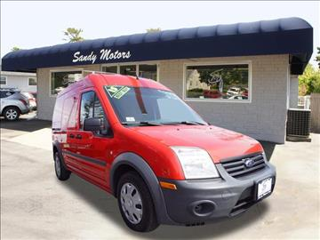 2013 Ford Transit Connect for sale at Sandy Motors INC in Coventry RI