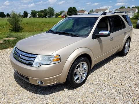 2008 Ford Taurus X for sale at CALDERONE CAR & TRUCK in Whiteland IN