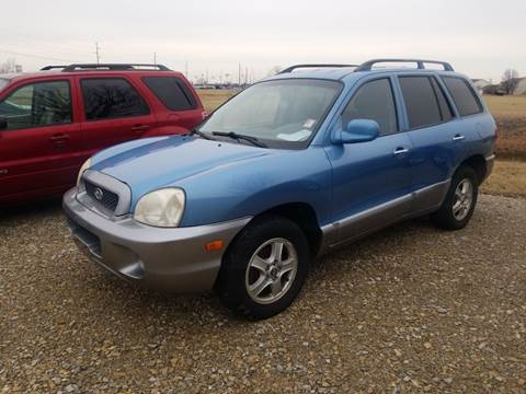 2004 Hyundai Santa Fe for sale at CALDERONE CAR & TRUCK in Whiteland IN