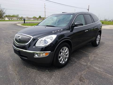 2012 Buick Enclave for sale at CALDERONE CAR & TRUCK in Whiteland IN