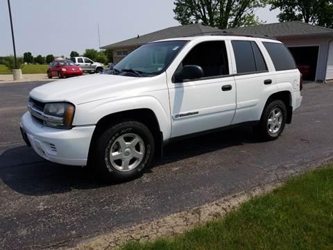 2002 Chevrolet TrailBlazer for sale at CALDERONE CAR & TRUCK in Whiteland IN