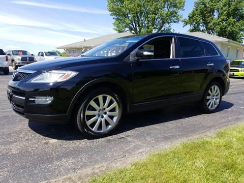 2008 Mazda CX-9 for sale at CALDERONE CAR & TRUCK in Whiteland IN