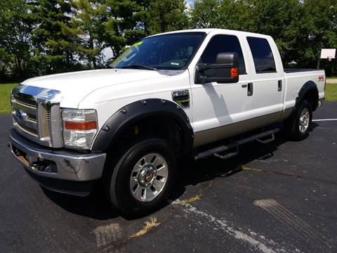 2008 Ford F-250 Super Duty for sale at CALDERONE CAR & TRUCK in Whiteland IN