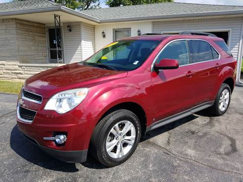 2010 Chevrolet Equinox for sale at CALDERONE CAR & TRUCK in Whiteland IN