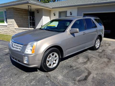 2008 Cadillac SRX for sale at CALDERONE CAR & TRUCK in Whiteland IN