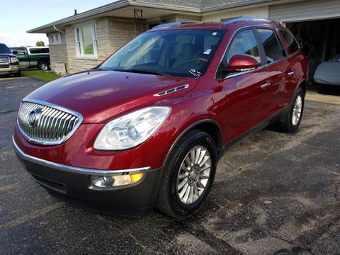 2009 Buick Enclave for sale at CALDERONE CAR & TRUCK in Whiteland IN