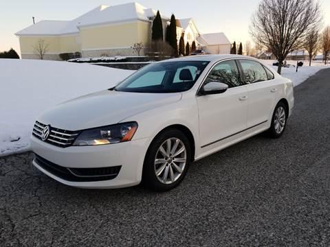 2012 Volkswagen Passat for sale at CALDERONE CAR & TRUCK in Whiteland IN