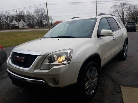 2010 GMC Acadia for sale at CALDERONE CAR & TRUCK in Whiteland IN