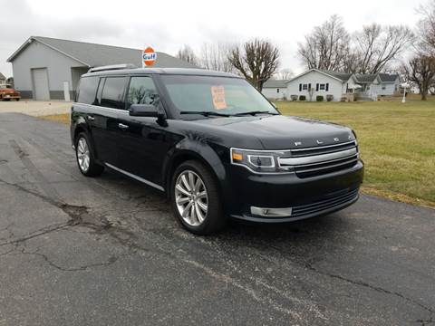 2013 Ford Flex for sale at CALDERONE CAR & TRUCK in Whiteland IN