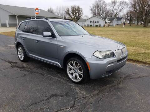 2007 BMW X3 for sale at CALDERONE CAR & TRUCK in Whiteland IN