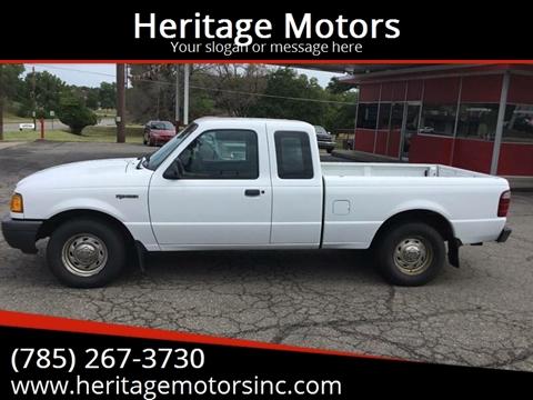 Used Cars Topeka Used Pickup Trucks Heritage Motors