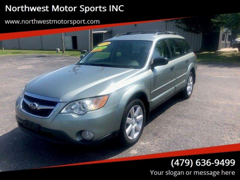 2009 Subaru Outback for sale at Northwest Motor Sports INC in Rogers AR