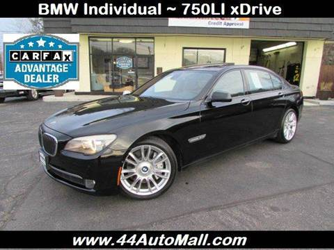 2010 BMW 7 Series for sale at 44 Auto Mall in Smithfield RI
