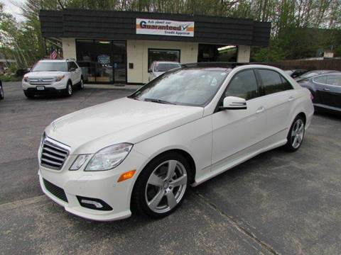 2011 Mercedes-Benz E-Class for sale at 44 Auto Mall in Smithfield RI