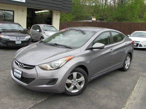 2011 Hyundai Elantra for sale at 44 Auto Mall in Smithfield RI