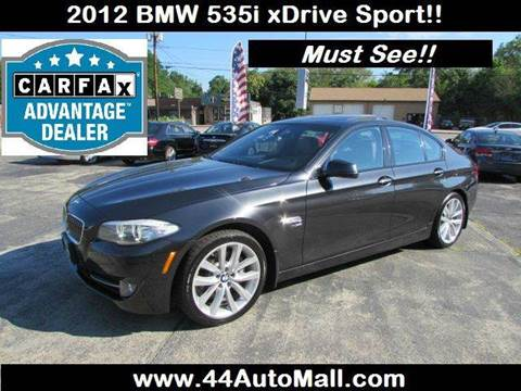 2012 BMW 5 Series for sale at 44 Auto Mall in Smithfield RI
