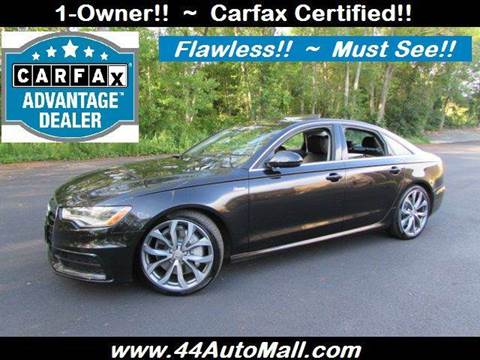 2012 Audi A6 for sale at 44 Auto Mall in Smithfield RI