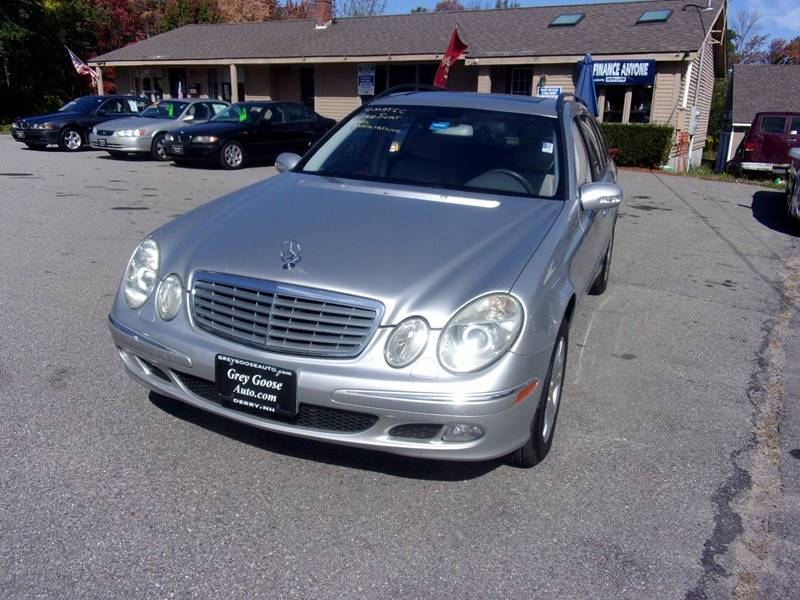 2004 Mercedes-Benz E-Class AWD E 320 4MATIC 4dr Wagon In Derry NH ...