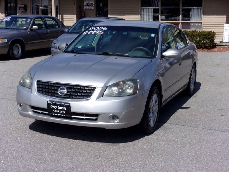2006 Nissan Altima S In Derry NH - Grey Goose Truck and Auto