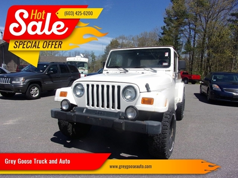 2000 Jeep Wrangler for sale in Derry, NH