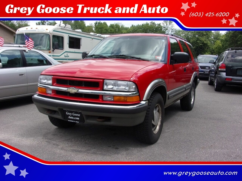 1999 Chevrolet Blazer In Derry Nh Grey Goose Truck And Auto