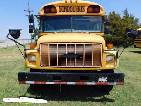 2002 Chevrolet BLUEBIRD for sale at Interstate Bus Sales Inc. in Wallisville TX