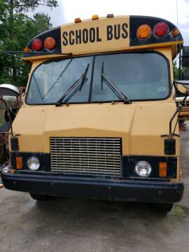 1995 GMC P-CHASSIS  with AC for sale at Interstate Bus Sales Inc. in Wallisville TX