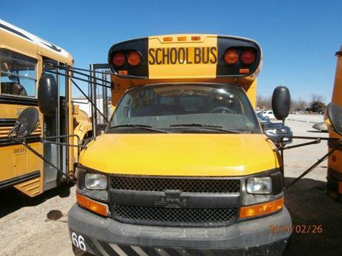 2004 Chevorlet Bluebird for sale at Interstate Bus Sales Inc. in Wallisville TX
