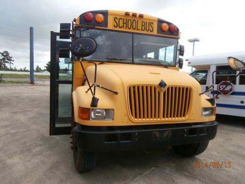 2002 International AmTran for sale at Interstate Bus Sales Inc. in Wallisville TX