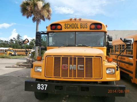 1998 GMC Bluebird for sale at Interstate Bus Sales Inc. in Wallisville TX