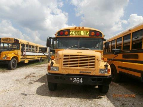 2001 International Blue Bird for sale at Interstate Bus Sales Inc. - GLOBAL BUS SALES in Alice TX