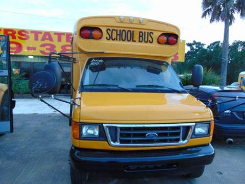 2004 Ford Bluebird for sale at Interstate Bus Sales Inc. in Wallisville TX