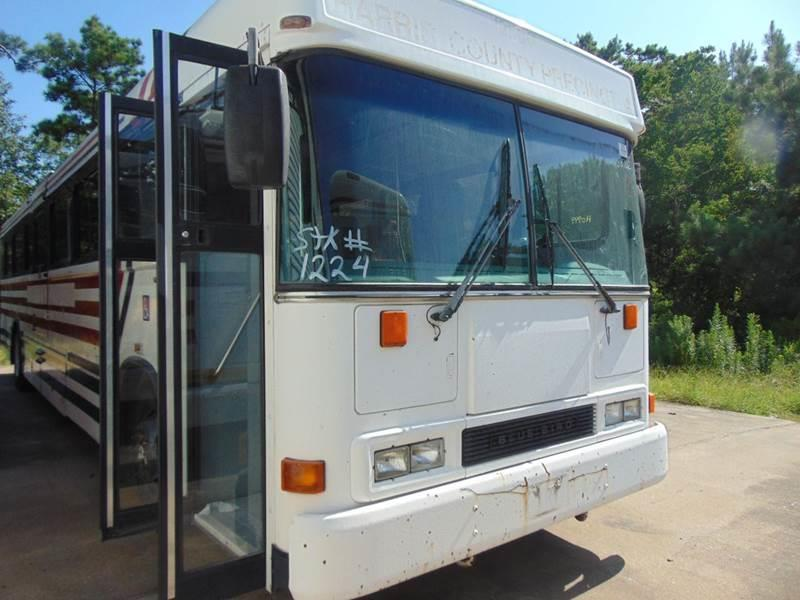 2001 Blue Bird ALL AMERICAN   A/C for sale at Interstate Bus Sales Inc. in Wallisville TX